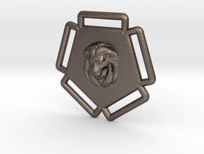 "Leonidas ""D"" - 5-Strap Hardware Type B in Polished Bronzed-Silver Steel"