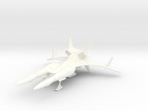 144 Samurai mk IIb (landed) in White Processed Versatile Plastic