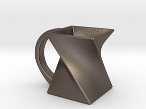 Twist Mug in Stainless Steel