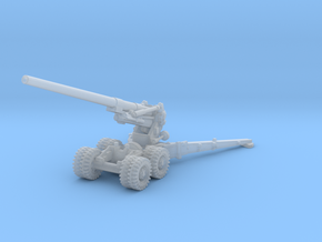 M1 155mm Long Tom 1/285 in Smooth Fine Detail Plastic