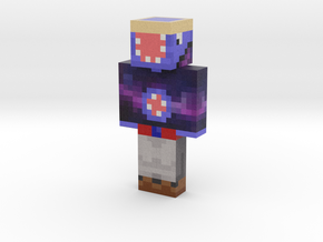 Trendy Squid | Minecraft toy in Natural Full Color Sandstone
