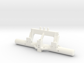 rtf204-01 RC4WD Trailfinder 2 & LWB Rear Bumper in White Processed Versatile Plastic