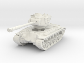 M46 Patton 1/120 in White Natural Versatile Plastic