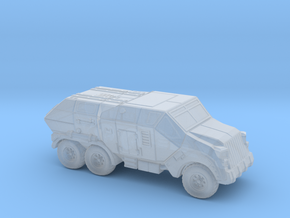 Sci Fi Transport Vehicle (1 included)– 6mm in Smooth Fine Detail Plastic