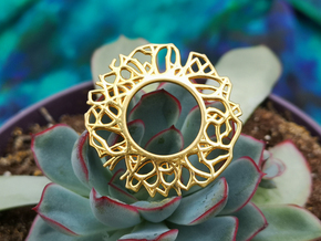 Pendant - Rooted Collection in 14k Gold Plated Brass