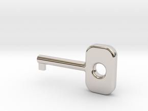 Cuff Key in Platinum
