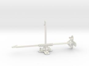 Infinix Hot 8 tripod & stabilizer mount in White Natural Versatile Plastic