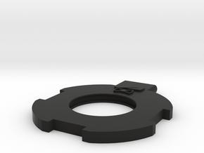 G&G 308 MBR barrel stabilizer in Black Natural Versatile Plastic