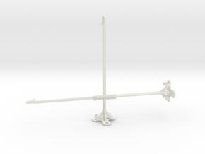 Samsung Galaxy Tab Active Pro tripod mount in White Natural Versatile Plastic