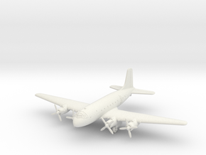 1/285 (6mm) Handley Page H.P.67 Hastings in White Natural Versatile Plastic
