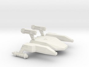 3125 Scale LDR War Dreadnought (DNW) CVN in White Natural Versatile Plastic