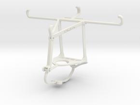 Controller mount for Nimbus & Apple iPhone 11 - To in White Natural Versatile Plastic
