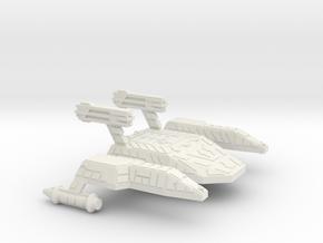3125 Scale Lyran Cave Jaguar War Dreadnought CVN in White Natural Versatile Plastic