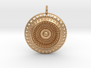 Circles in Natural Bronze
