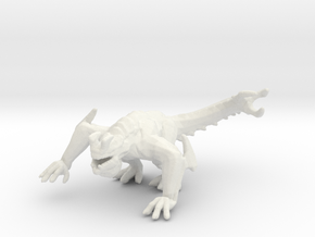 Pacific Rim Otachi kaiju monster miniature gameRPG in White Natural Versatile Plastic
