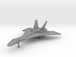 1/200 Mig-31 Firefox in Gray PA12