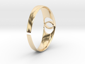 BRACELETE in 14k Gold Plated Brass: Small
