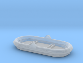1/35 Scale 4 Person Inflatable Raft Mk 2 USN in Smooth Fine Detail Plastic