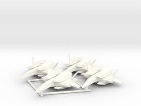 FF-S3 Saberfish Squad in White Processed Versatile Plastic