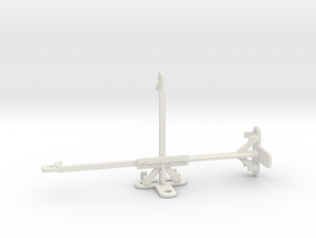 Realme XT tripod & stabilizer mount in White Natural Versatile Plastic
