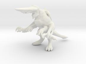 Pacific Rim Knifehead Kaiju Monster Miniature in White Natural Versatile Plastic