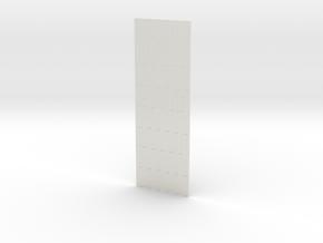 1/30 PSP Marsden Matting INTERMEDIATE PART in White Natural Versatile Plastic