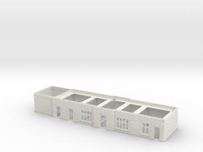 Chirk Main Stetion Building Ground Floor in White Natural Versatile Plastic