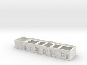 Chirk Main Stetion Building Ground Floor in White Natural Versatile Plastic