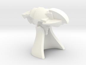 Baron Von Baron 50 (mm) in White Processed Versatile Plastic