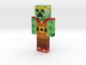 King-Of-The-Creepers | Minecraft toy in Natural Full Color Sandstone