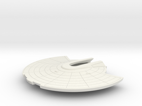 1/1000 USS Shangri-La Saucer Detailed Ver.2 in White Natural Versatile Plastic
