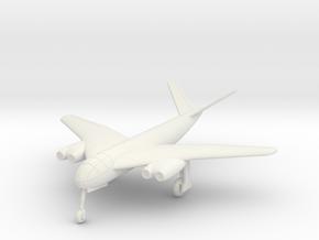 1/144 Messerchmitt P.1101/XVIII-104 in White Natural Versatile Plastic