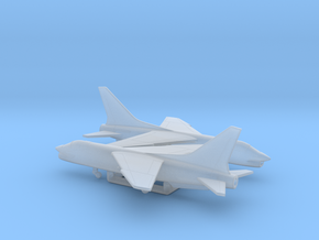 Vought F-8 Crusader in Smooth Fine Detail Plastic: 1:400