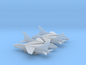 Vought F-8 Crusader in Smooth Fine Detail Plastic: 1:500
