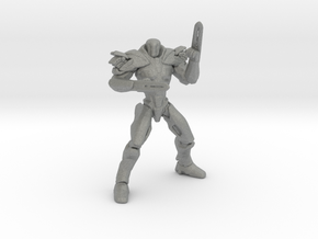 Pacific Rim Obsidian Fury Jaeger Miniature games in Gray PA12