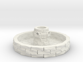 Water Fountain 1/144 in White Natural Versatile Plastic