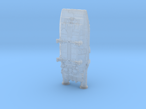 BSG Colonial Shuttle mk1 in Smooth Fine Detail Plastic: 6mm