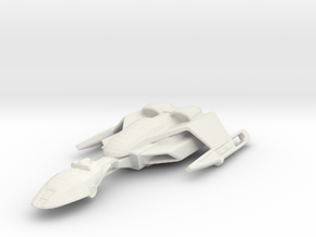 Klingon VoQuv Carrier in White Natural Versatile Plastic