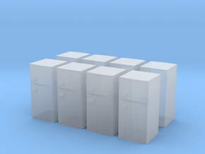 Fridge (x8) 1/220 in Smooth Fine Detail Plastic