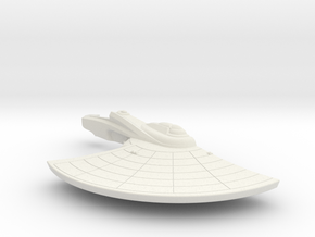 1/1000 USS Wasp (NCC-9701) Right Saucer Detailed in White Natural Versatile Plastic