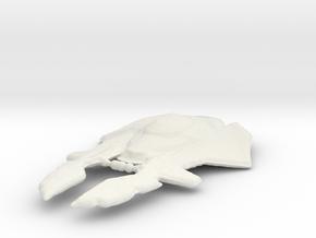 Xindi Primate Cruiser (Refit) in White Natural Versatile Plastic