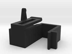 Thorens Lower Hing Right in Black Natural Versatile Plastic