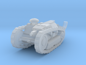 Ford 3t Tank 1/120 in Smooth Fine Detail Plastic