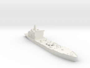 Henry J Kaiser 1:700 Without Loading Arms in White Natural Versatile Plastic