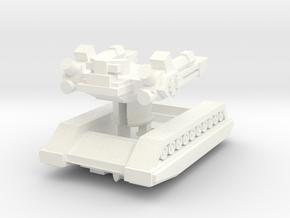 "WS-1 Seige Tank ""Growler"" in White Processed Versatile Plastic"