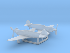 Curtiss XP-46 in Smooth Fine Detail Plastic: 6mm