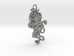 APJ CHAMPION (The Lion) in Natural Silver
