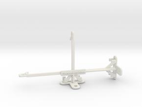 Honor Play 3e tripod & stabilizer mount in White Natural Versatile Plastic
