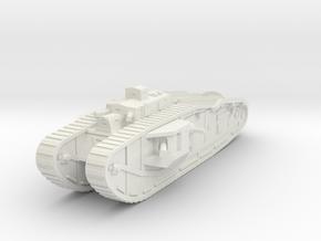 Mark VIII Male 1/87 in White Natural Versatile Plastic