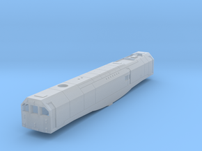 3mm Scale Bulleid Leader Scratch Aid - Body in Smooth Fine Detail Plastic